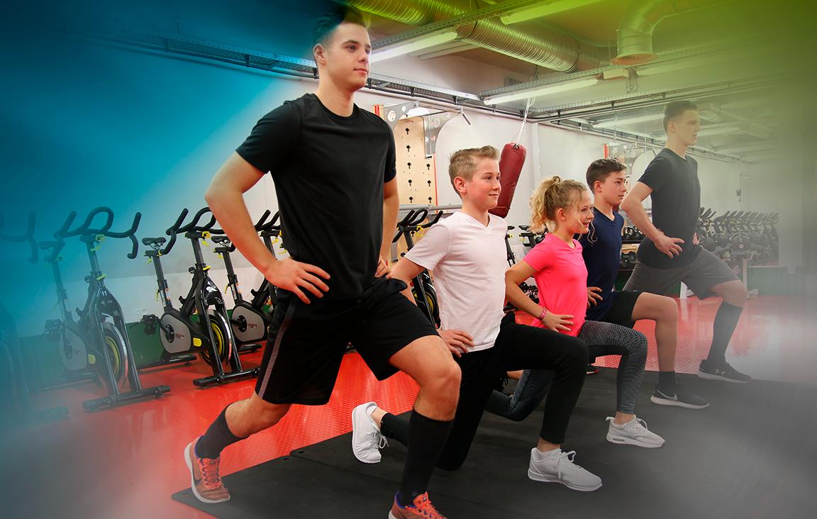 Jugendtraining und Fitnesscoach und Ernährungsberatung
